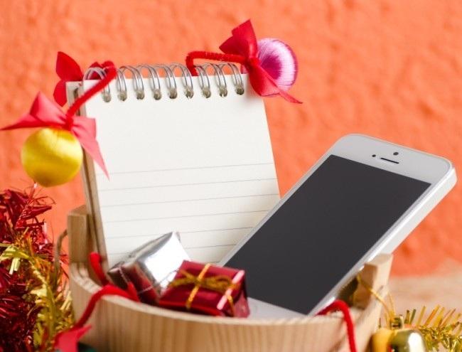 Поздравление на телефон в Новый год